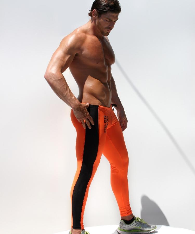 22a9f73e17e2c 2019 Wholesale Sexy AQUX Men'S Workout Tights Elastic Gym Sports ...