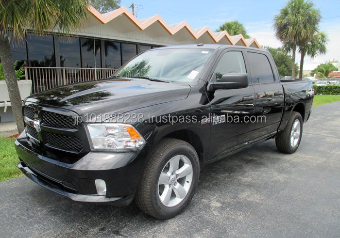 B/NEW PICKUP - DODGE RAM 1500 EXPRESS - FLOOD (LHD 819455)