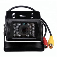 Night Vision Infrared Car Security CCD 24v Reverse Truck Camera
