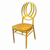New Style Gold Phoenix Chair For Wedding