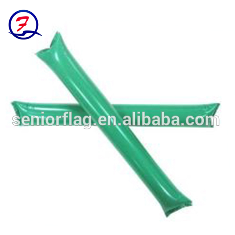 Customized design printed plastic stick balloon for fans