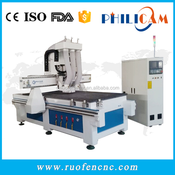 Philicam F2-9 cnc router hot sale wood furniture drilling machines