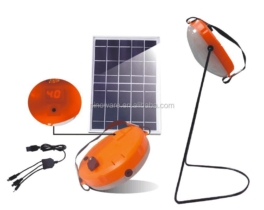 2016 Portable Solar Lantern with USB for Mobile Phone Chargers(4 way lighting,3 way charging),More than 270LM