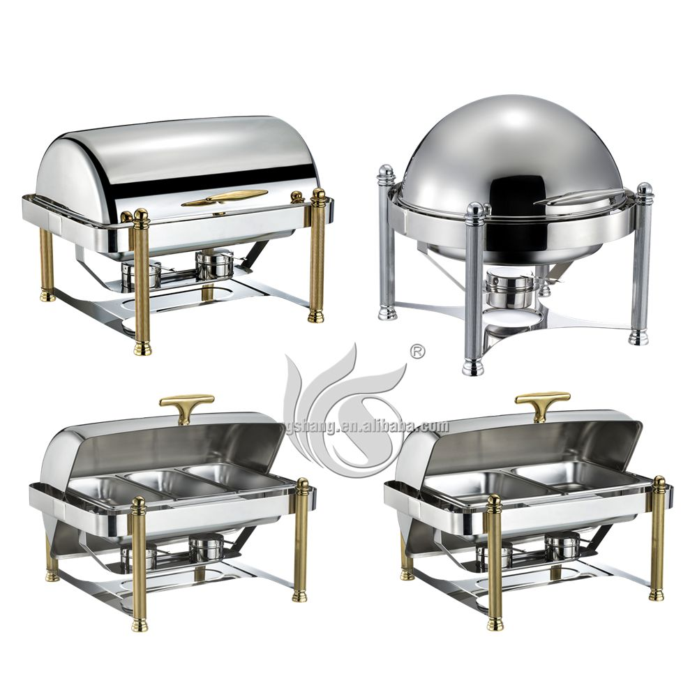 Stainless Steel 201 Material and Restaurant Buffet Container