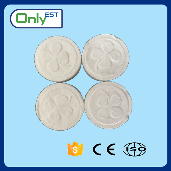 Wholesale mini coin tablet cotton custom compressed towels magic towel promotional travel towel