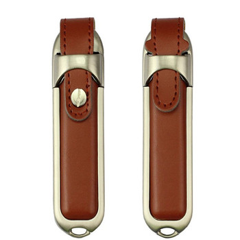 12 years usb flash drive supplier newest design fashion leather usb memory disk