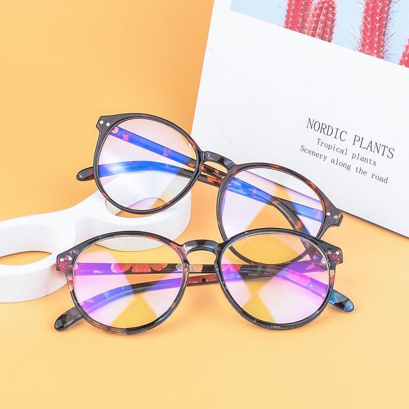 2019 Latest China New Model Eyewear Optical Frame Fashion Designer Cheap Anti Blue Light Blocking Computer Glasses For Men Women, Custom colors