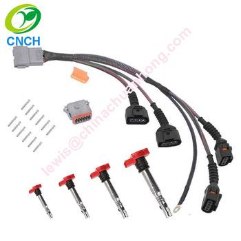 [DVZP_7254]   Audi Vw 1.8t 97-06 Performance Ignition Coil Wiring Harness Loom Mk4 Jetta  Golf Gti Beetle Tt Or With Coils 06e905115 A B C D E - Buy Vw Coils,Vw Coil  Wire Loom,Audi | 1 8t Wire Harness |  | Alibaba.com