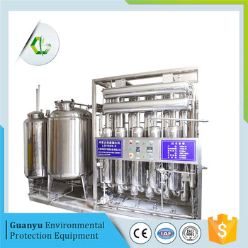 LD2000-5 Multi column Distilled Water machine for injection water