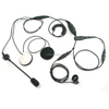 [M-E1663-6500] 2 riders wired motorcycle walkie talkie headset for Motorola Mototrbo XiRP8208 XPR6350 XPR6300 XPR6350 XPR6380 XP