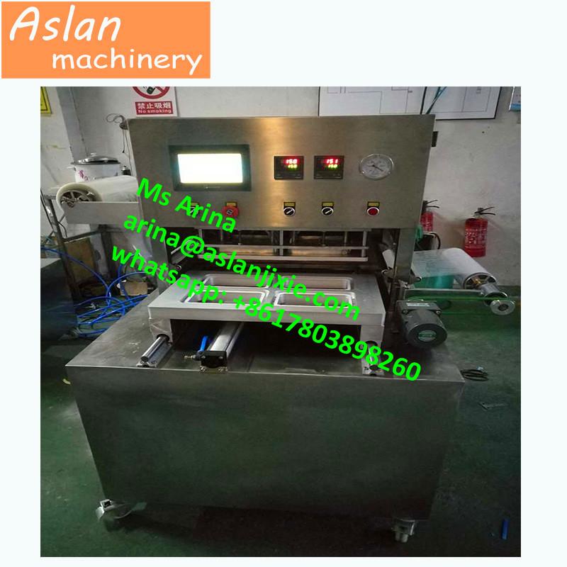 7c03185ddc6 plastic cup vacuum sealer  aluminum bowl vacuum sealing machine  fast food  tray vacuum sealing