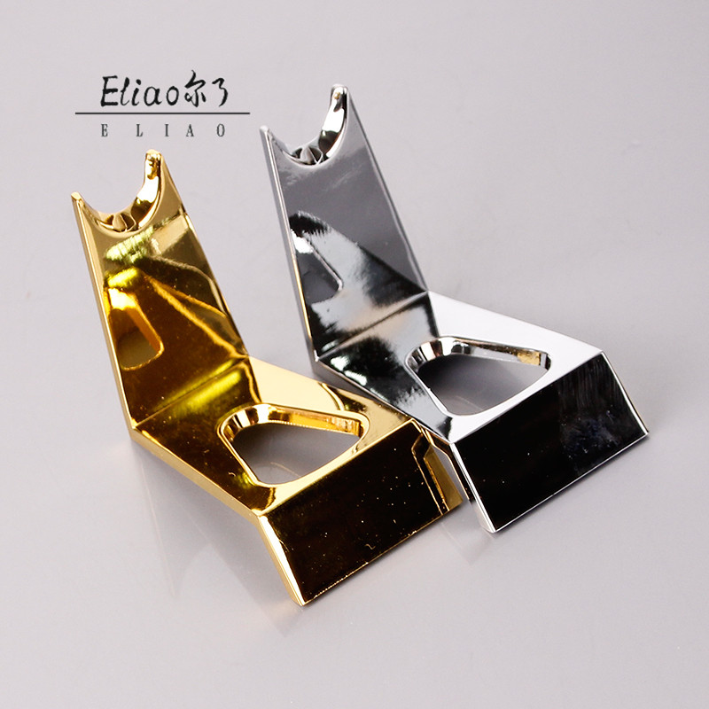 Erliao Personality New style Stainless steel Smoking Pipe Z Shape Tobacco Smoking Pipe Rack