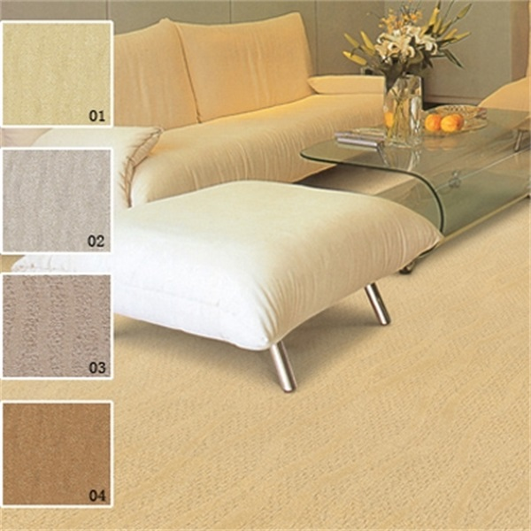 Dry Quickly Nonflammable Broadloom Carpet For Home