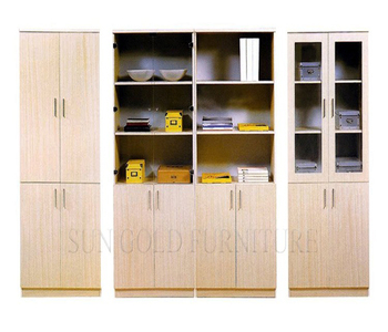 Steel Based Wooden Office Cabinet Wall Cabinet Showcase (sz-fcb333 ...