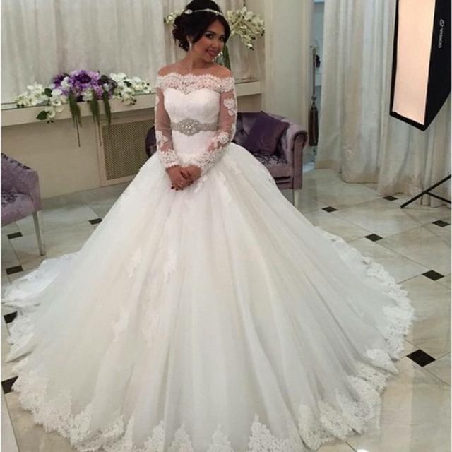On3042 Arabie Saoudite Robe De Mariée Robe