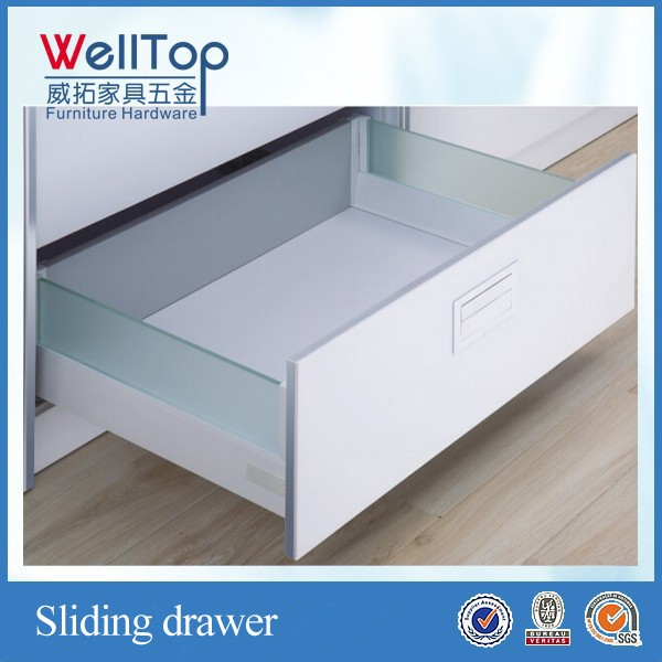 kitchen metal drawer industrial metal cabinet drawers VT-15.020
