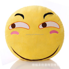 Factory whatsapp emoji stuffed plush soft toy emoji pillow with CE test