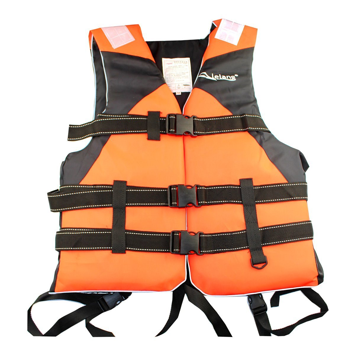 Adult life jackets drift snorkeling surfing wear vests vests take off with life jackets , orange , l