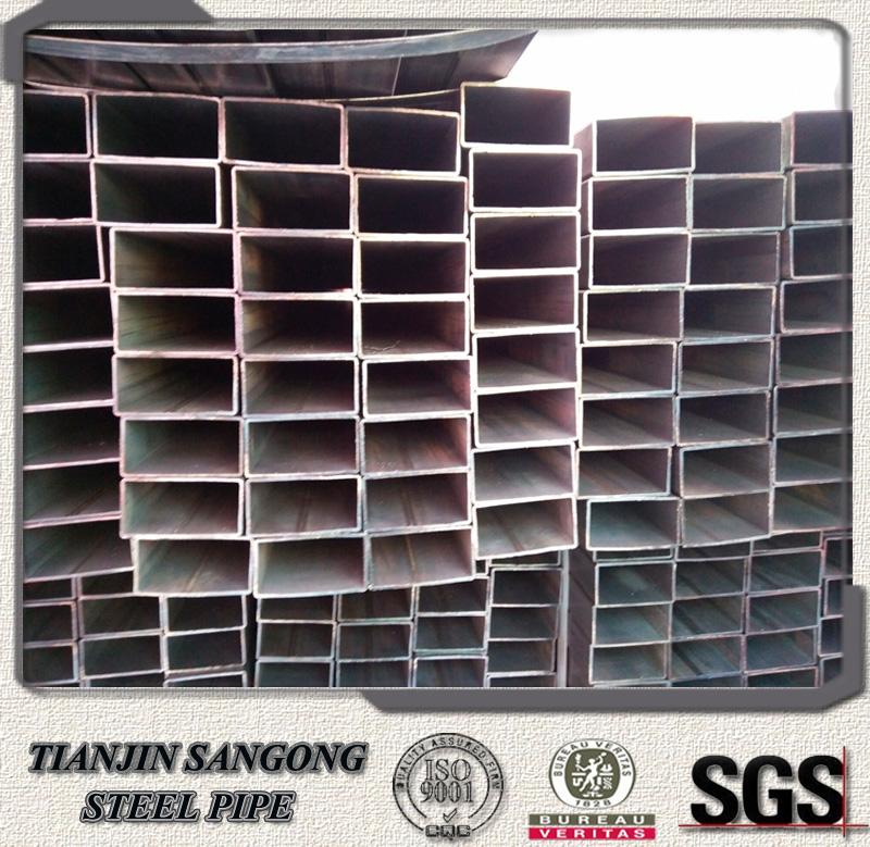 Venta al por mayor tubos cuadrados de acero perforados - Tubo cuadrado acero ...