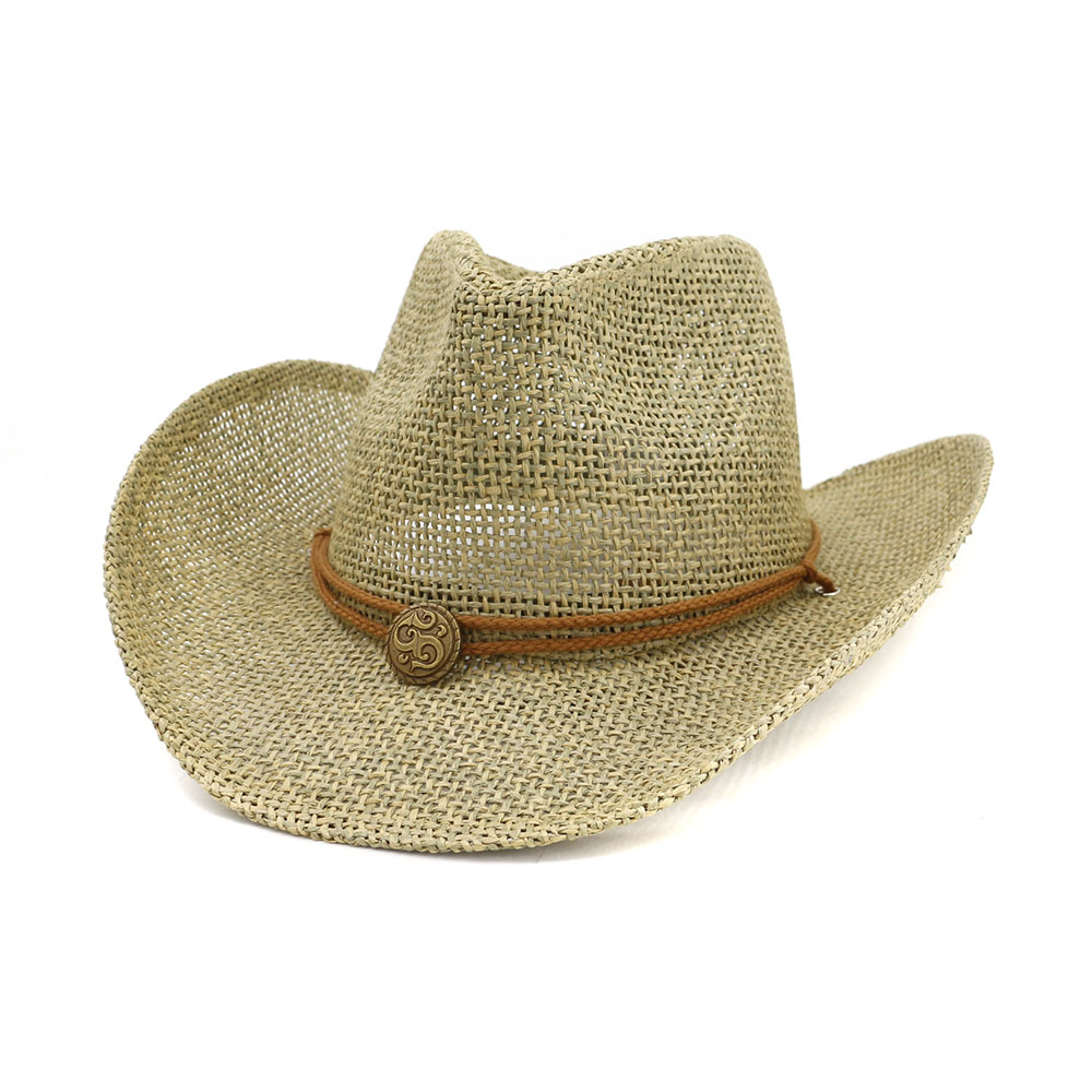 d4b63539 China Straw Cowboy Hats, China Straw Cowboy Hats Manufacturers and  Suppliers on Alibaba.com