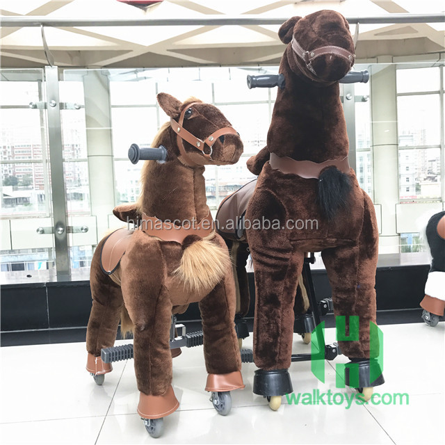 HI Kids mechanical pony/walking toy horse/kid riding horse toy