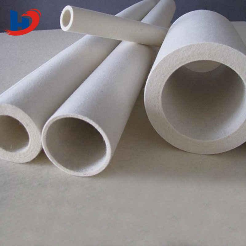 factory pomotion high quality industrial wool felt tube