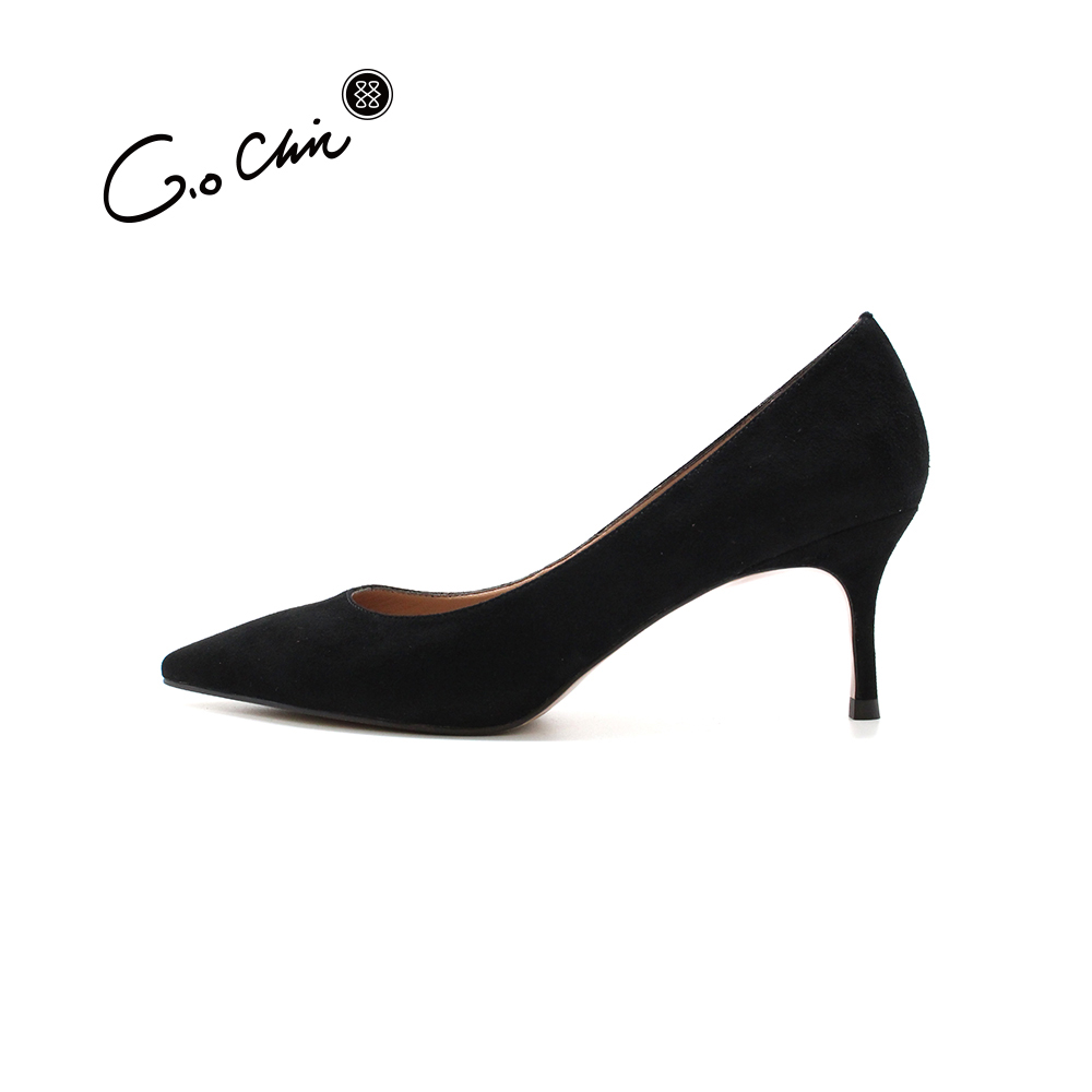 Design Comfortable Elegant High <strong>Heel</strong> Genuine Leather China Dress Shoes Women <strong>heels</strong>