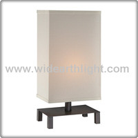 Black Simple Style Linen Shade Decorative Table Lamp With UL Listed For Bedroom T40285