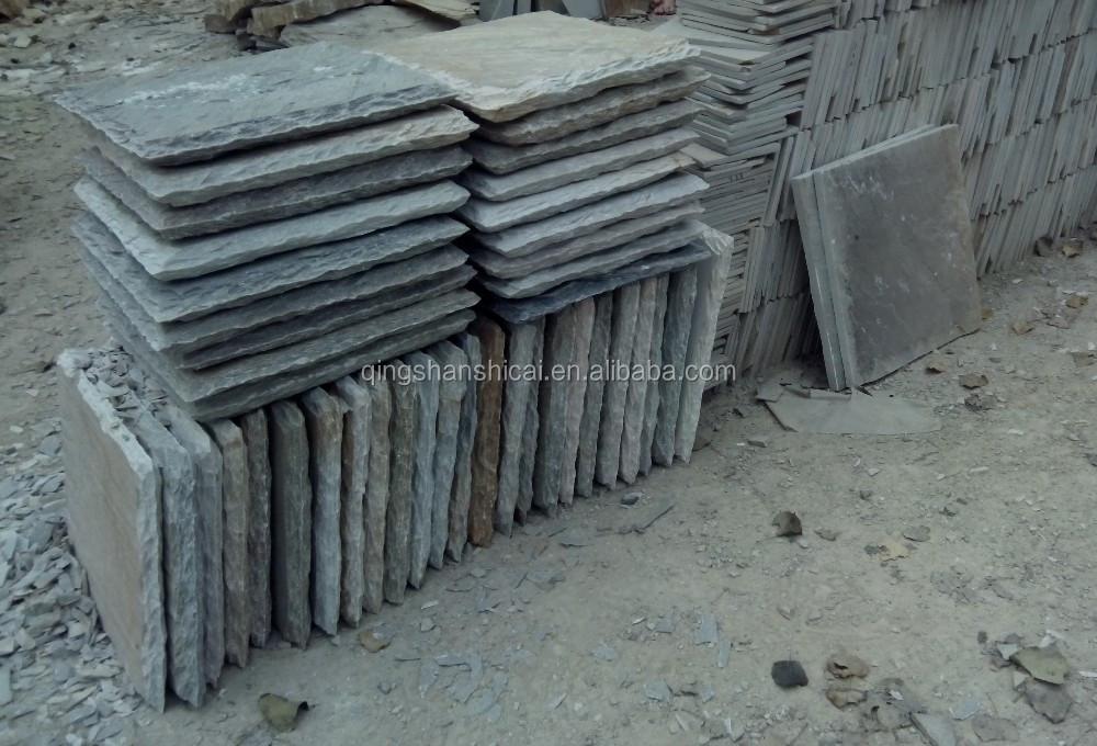 Zwembad hek leisteen stenen muur caps leisteen product id 60087227329 - Leisteen muur ...