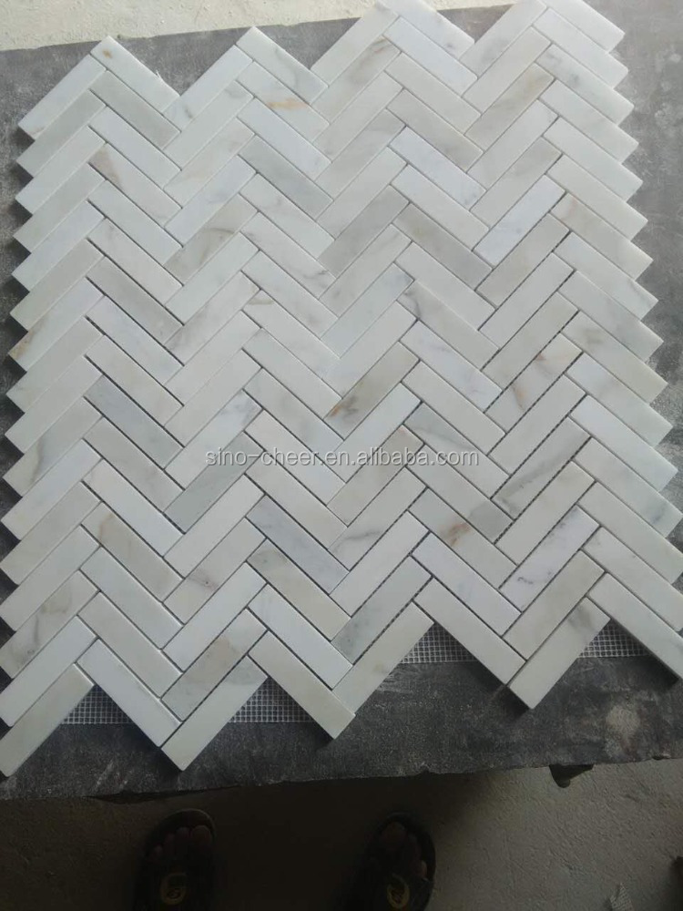 molds for paving herringbone mosaic tile