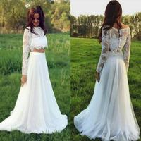 2019 Changing Bolero Chinese Traditional White Tulle Lace Forest Wedding Dresses for Woman