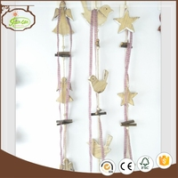 colorful tree heart star hanging christmas star decoration good quality hanging star