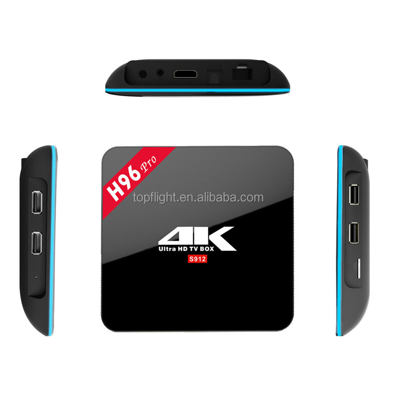 Amlogic S912 Octa Core 2GRAM 16GROM Android 6.0 IPTV Receive Kodi TV Box