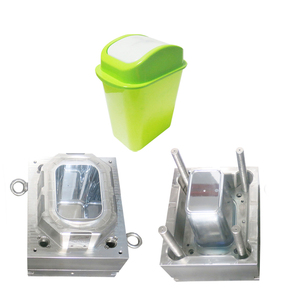 12L of green rotary plastic dustbin mould