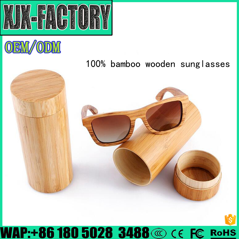Top 3 factory!Manufacturer Supplier wooden sunglasses Custom logo men's bamboo OEM