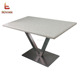KFC Mcdonald's Fast Food Restaurant Luxury Dining Table And Chairs Set