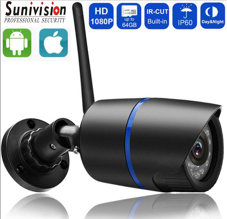 1080P 720P Wifi IP Wireless P2P Surveillance CCTV Bullet indoor IR <strong>Camera</strong>