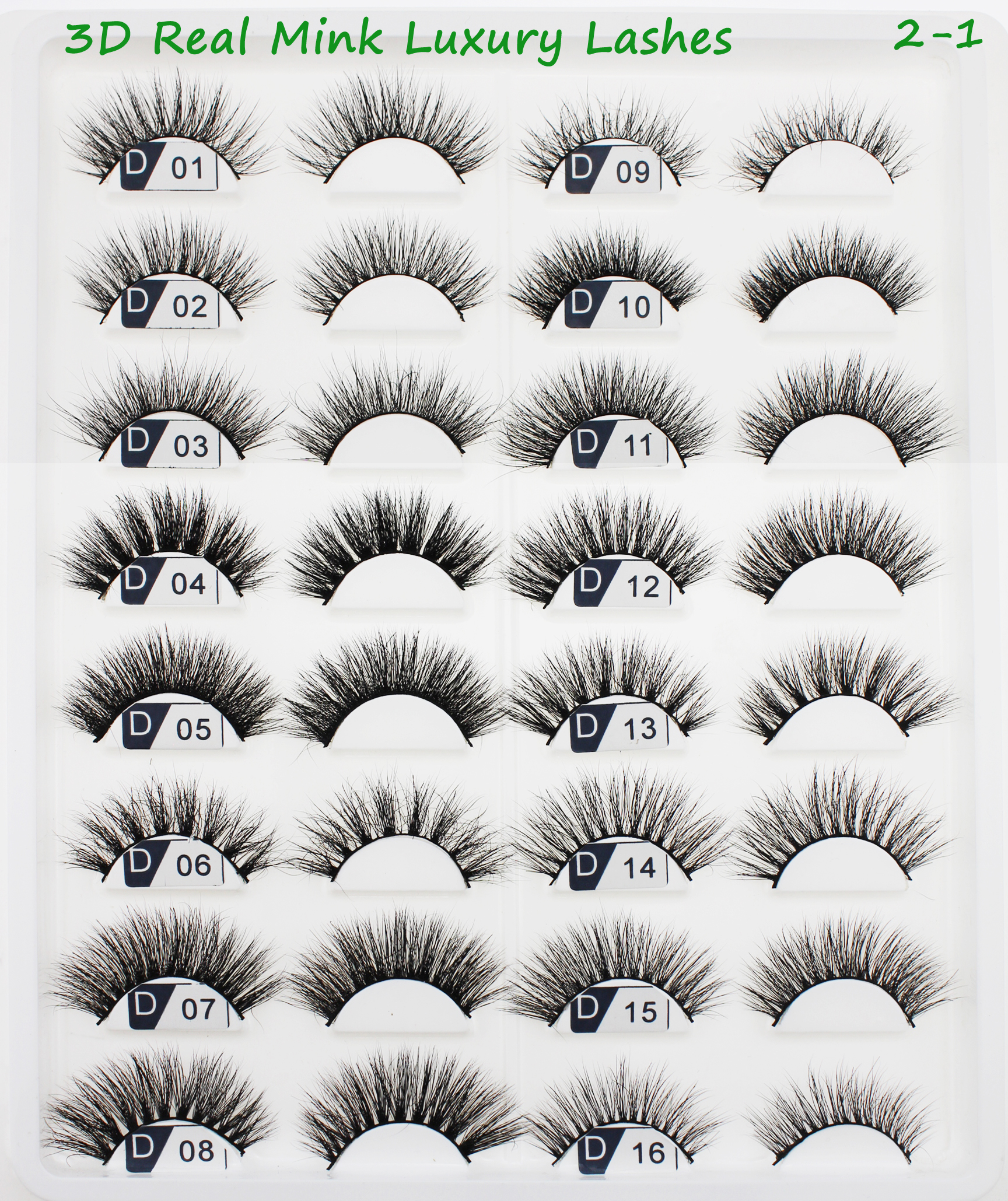Custom package private label flipped Reusable individual real strip 3d Mink eyelashes Long Wispies 3d mink lashes