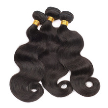 4a 4b 4c 18 inch human hair natural color peruvian hair bundle for African American