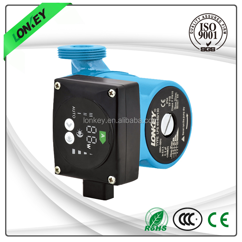 AC 230V energy saving silent copper wire mini hot water circulation booster pump for heating system