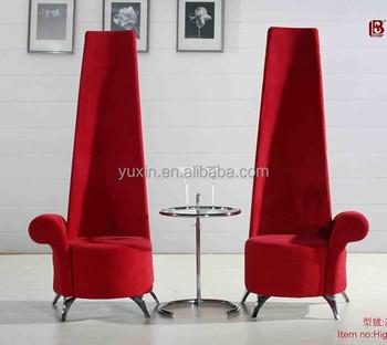 High Back Modern Fabric Coffee Chair