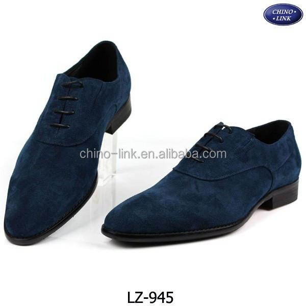 blauwe suede schoenen heren