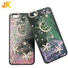Bling glitter diamond liquid quicksand <span class=keywords><strong>telefoon</strong></span> case voor iphone glitter case voor samsung beste kwaliteit