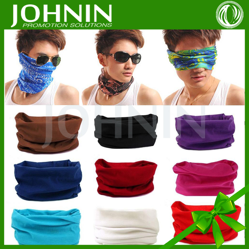 Scrolling Printed Headwear Cycling Bufanda Neck Bandana