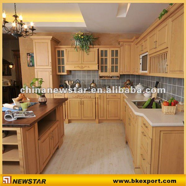 H tre bois armoires de cuisine armoire de cuisine id de for Armoires de cuisine en bois