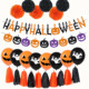 Happy Halloween paper garland party decorations theme Party Supplies