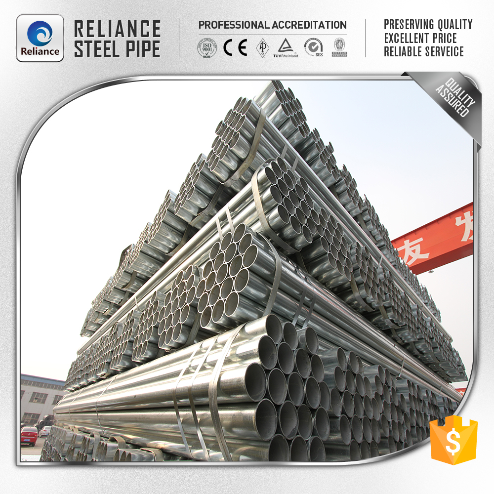 DN200 galvanized steel pipe with threaded ends Cross-border delivery