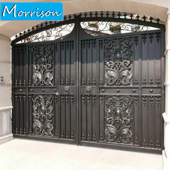 Best Selling Durable Using Iron Pipe Gate Designs For Home Buy