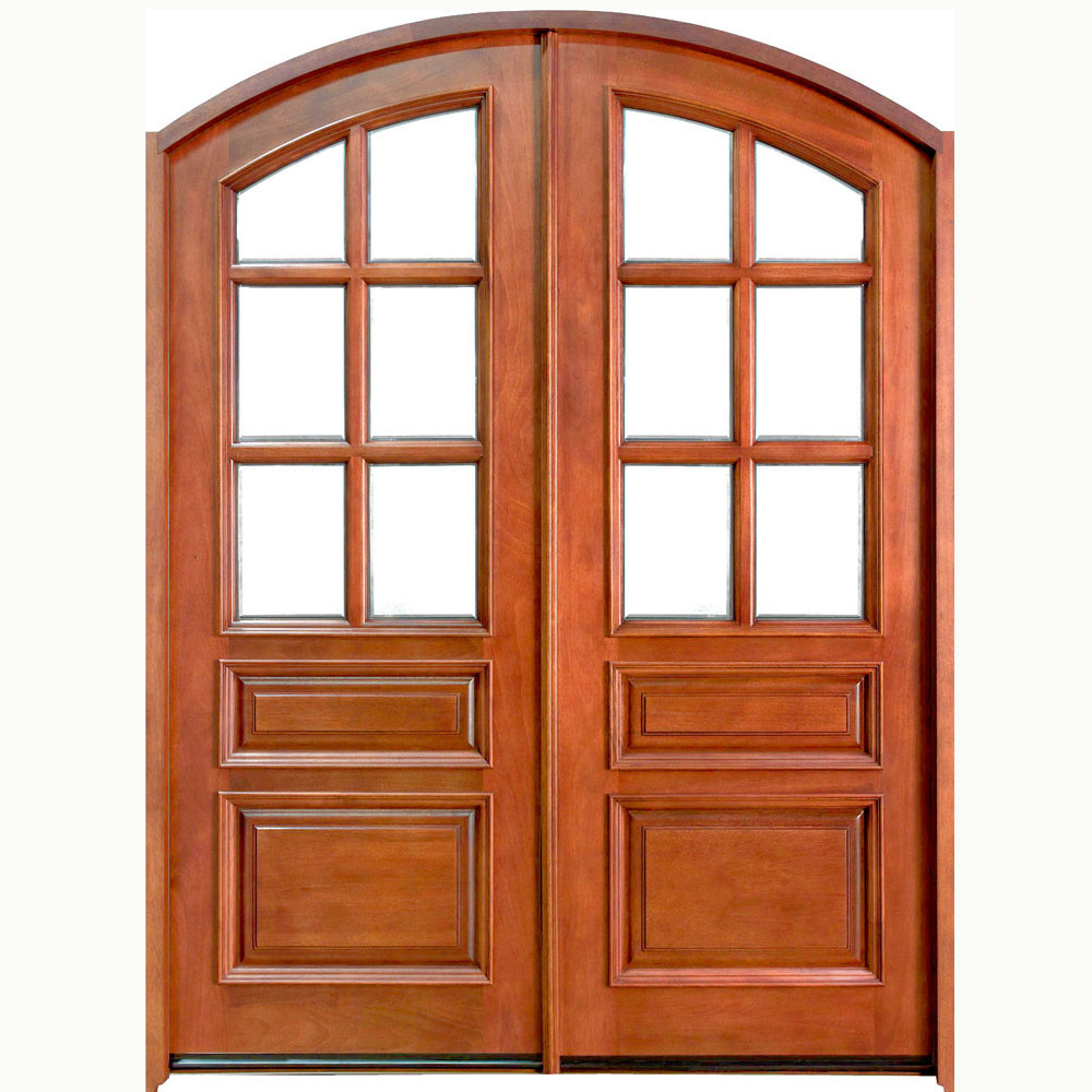 Cheap Price Half Moon Glass Wooden Door With Good Quality Buy Half
