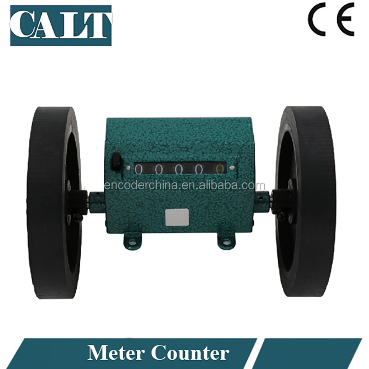 CALT hot sale digital yarn length wheel meter counter